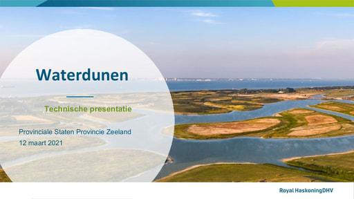 Waterdunen technische presentatie PS 12 maart 2021